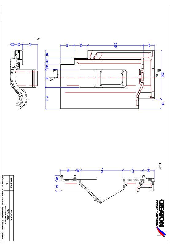 Produkt CAD-Datei SINFONIE Antenne ANTENNE