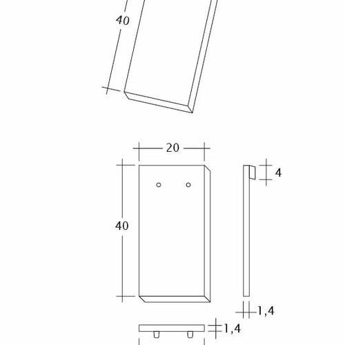 Produkt technische Zeichnung AMBIENTE Ger-1-1