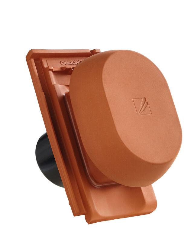 ELE SIGNUM keramischer Wrasenlüfter DN 150/160 mm inkl. Unterdachanschlussadapter