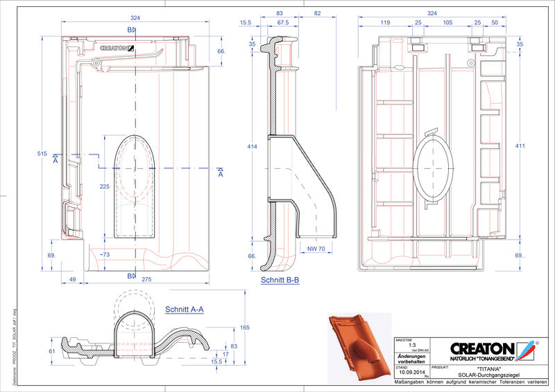 Produkt CAD-Datei TITANIA Solar SOLAR