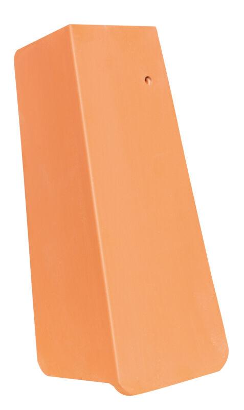 AMBIENTE Geradschnitt Ortgangziegel 3/4 rechts mit langem Seitenlappen ca. 11 cm
