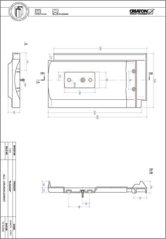 Produkt CAD-Datei ELEGANZ Grundalu GRUNDALU