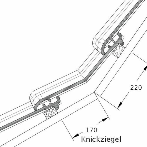 Produkt technische Zeichnung TITANIA KNZ