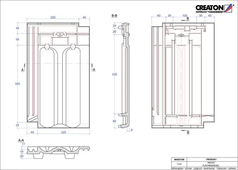 Produkt CAD-Datei RATIO Fläche FLA