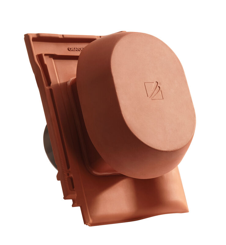 MAG SIGNUM keramischer Wrasenlüfter DN 200 mm inkl. Unterdachanschlussadapter