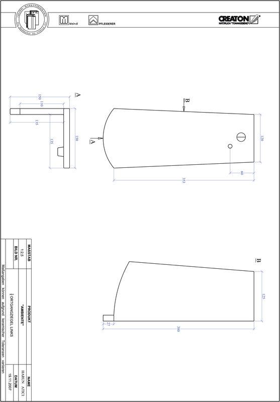 Produkt CAD-Datei AMBIENTE Segmentschnitt SEG-OGL-3-4