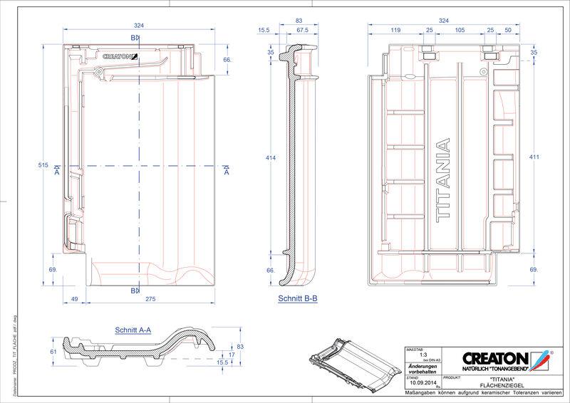 Produkt CAD-Datei TITANIA Fläche FLA