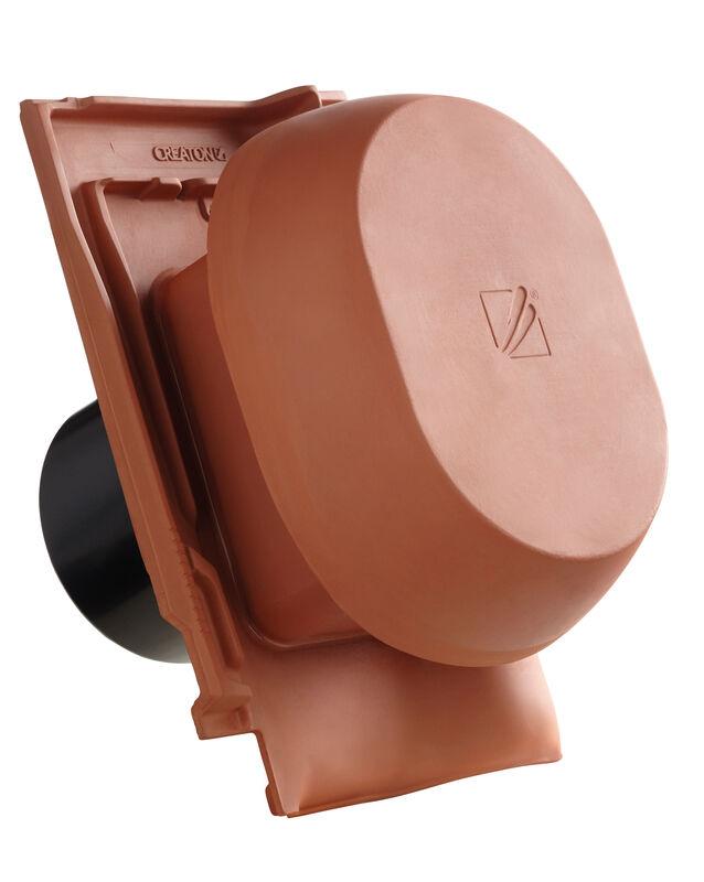 FUT SIGNUM keramischer Wrasenlüfter DN 200 mm inkl. Unterdachanschlussadapter