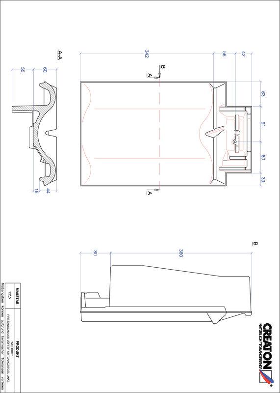 Produkt CAD-Datei MELODIE Firstanschlusslüfter Ortgang links FALOGL