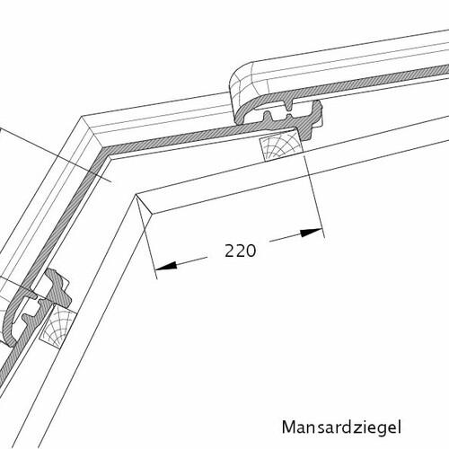 Produkt technische Zeichnung TITANIA MAZ