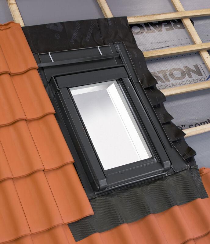 Wärmegedämmtes Dachausstiegsfenster 55 x 78 cm