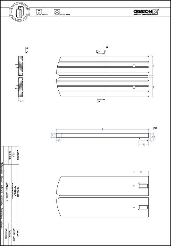 Produkt CAD-Datei PROFIL Segmentschnitt BKBI-LH