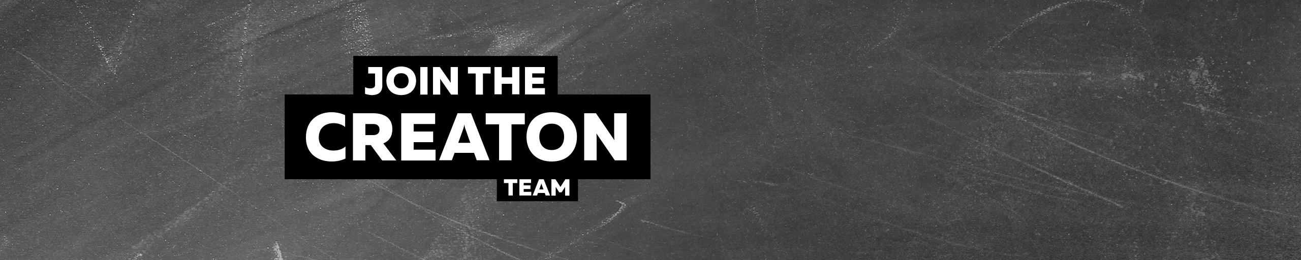 Join the CREATON Team