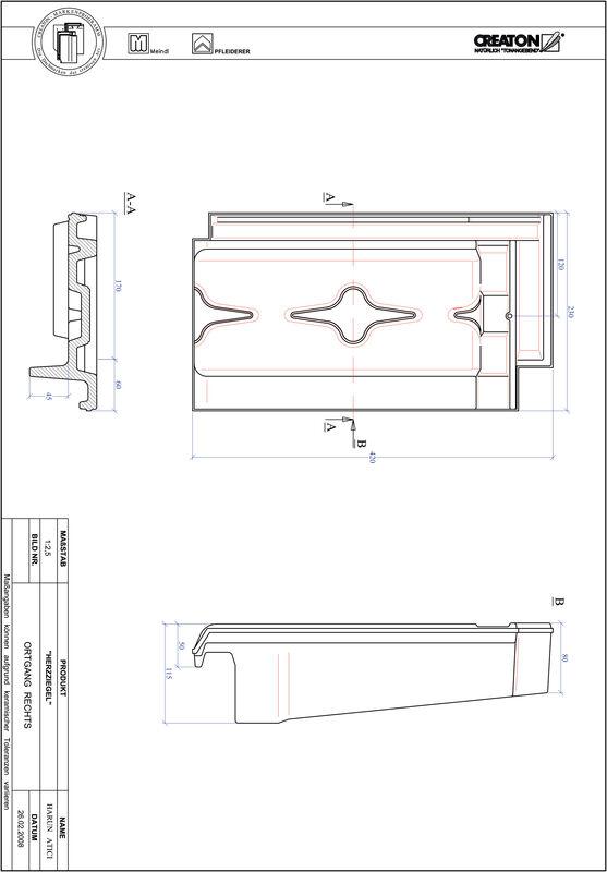Produkt CAD-Datei HERZZIEGEL Ortgang rechts OGR