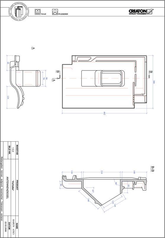 Produkt CAD-Datei FUTURA Antenne ANTENNE