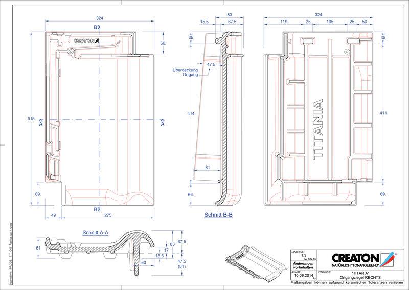 Produkt CAD-Datei TITANIA Ortgang rechts OGR