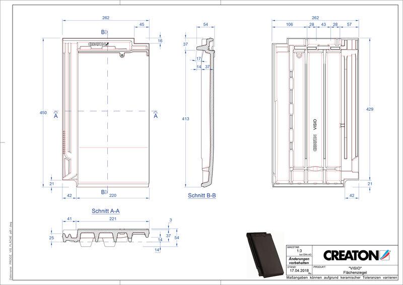Produkt CAD-Datei VISIO Fläche FLA