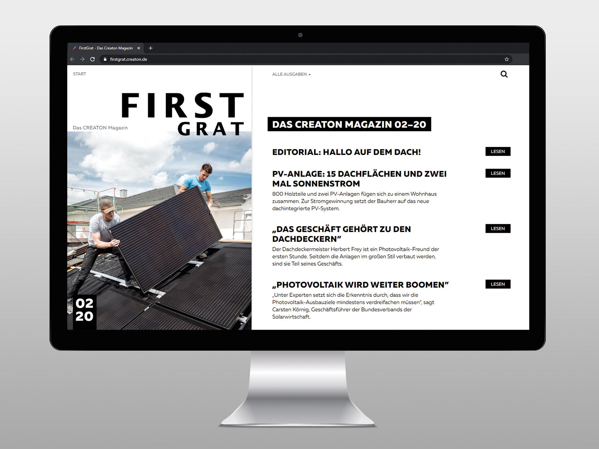 FirstGrat WebMagazin