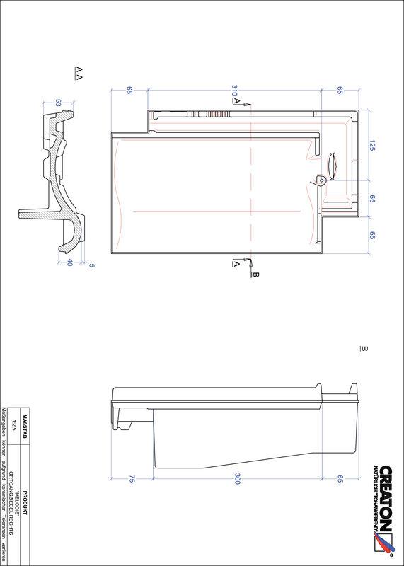 Produkt CAD-Datei MELODIE Ortgang rechts OGR